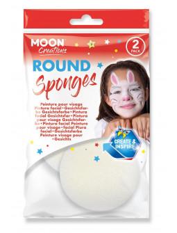 Esponjas Redondas de Espuma para Maquillaje