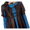 Disfraz de Princesa Medieval Azul Largo para Mujer