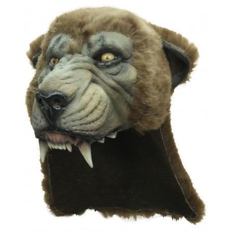 Casco de Cabeza de Puma de Látex