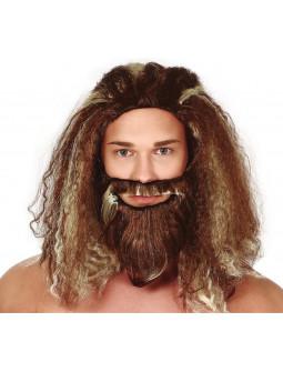Peluca de Aquaman con Barba