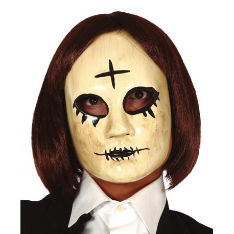 Máscara de Asesino de la Purga con Cruz