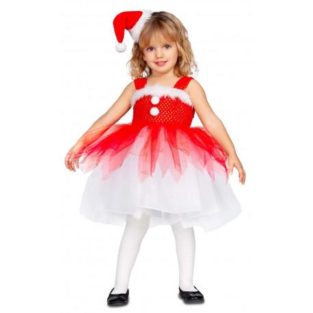 Disfraz de Mamá Noel con Tutú para Niña