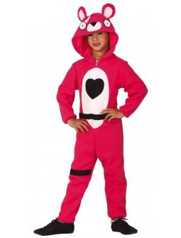 Disfraz de Oso Rosa Fortnite Infantil