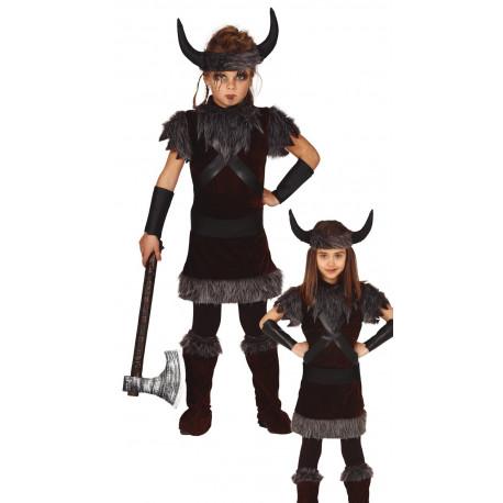 Disfraz de Vikingo Salvaje Infantil