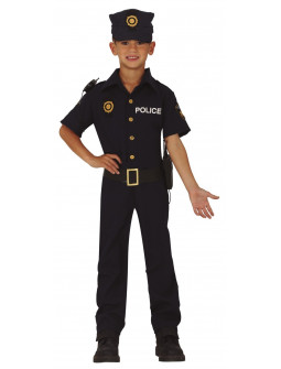 Disfraz de Policía Nacional para Niño