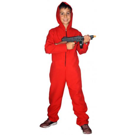 Disfraz de Mono Rojo con Capucha para Niño