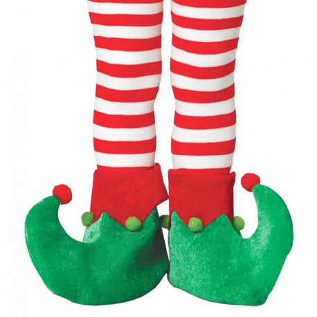 Cubrebotas de Elfo Navideño Infantiles