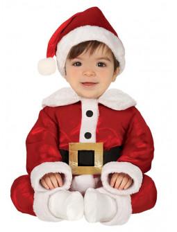 Disfraz de Papá Noel Terciopelo para Bebé