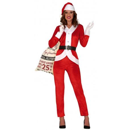 Disfraz de Mamá Noel con Pantalón para Mujer