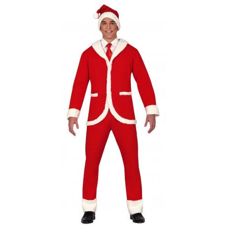 Traje de Papá Noel Elegante para Hombre