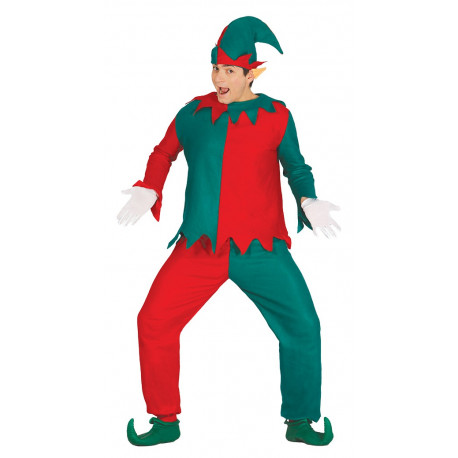 Disfraz de Elfo de Navidad para Adulto