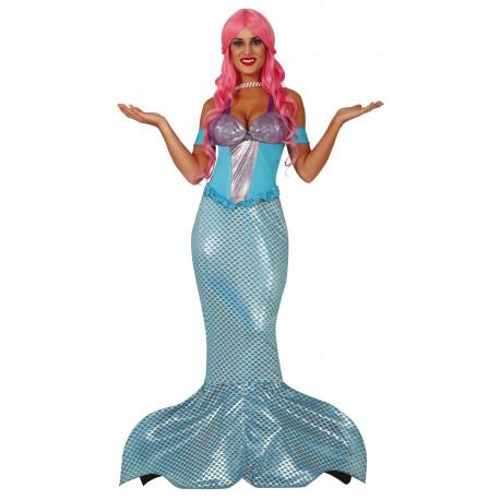 Disfraz de Sirena del Mar para Mujer