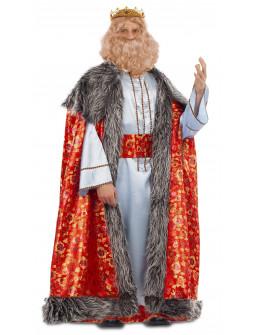 Disfraz de Rey Mago Melchor con Capa para Hombre