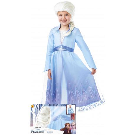 Disfraz de Elsa Frozen Infantil en Caja