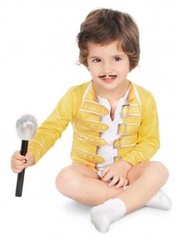 Disfraz de Freddie Mercury para Bebé