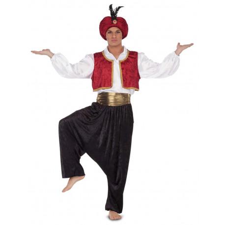 Disfraz de Fakir con Turbante para Hombre
