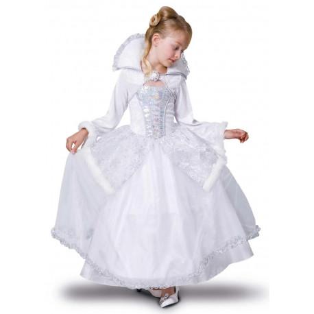 Disfraz de Reina de la Nieves para Niña