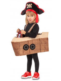 Disfraz de Galeón de Pirata Infantil