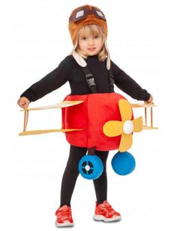 Disfraz de Avión con Piloto Infantil