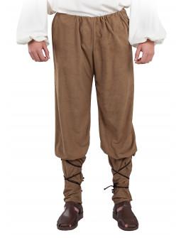 Pantalón Medieval Marrón para Hombre