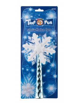 Ventilador de Copo de Nieve con Luz