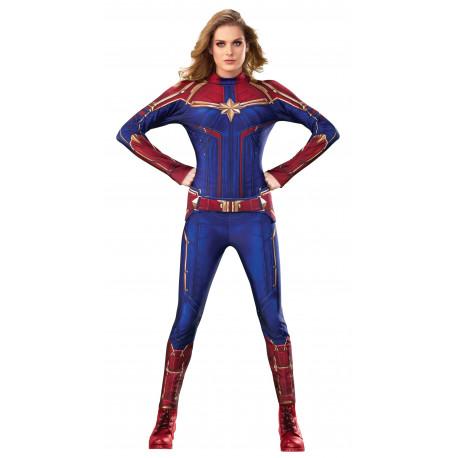 Disfraz de Capitana Marvel Oficial para Mujer