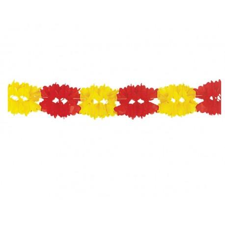 Girnalda decorativa - Rojo y Amarillo -