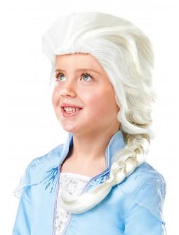 Peluca de Elsa Frozen 2 Infantil Oficial Disney