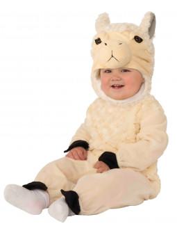 Disfraz de Llama de Peluche para Bebé