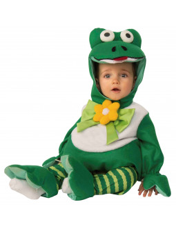 Disfraz de Rana de Peluche para Bebé
