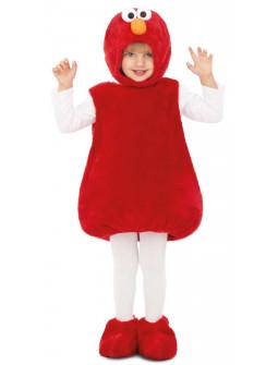 Disfraz de Elmo de Peluche Barrio Sésamo Infantil