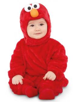 Disfraz de Elmo Peluche Barrio Sésamo para Bebé