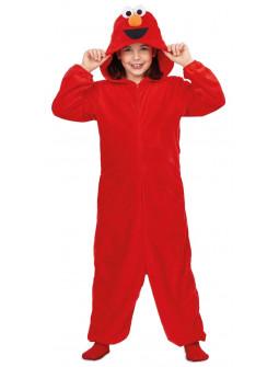Disfraz de Elmo Pijama Barrio Sésamo Infantil