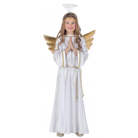 Disfraz de Ángel de Navidad Infantil