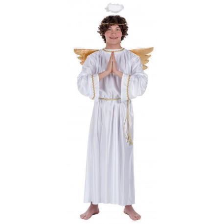 Disfraz de Ángel de Navidad para Adulto