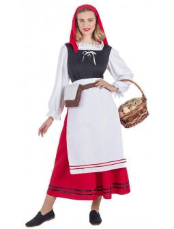 Disfraz de Pastora de Navidad para Mujer