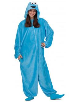 Disfraz del Monstruo de las Galletas Pijama para Adulto