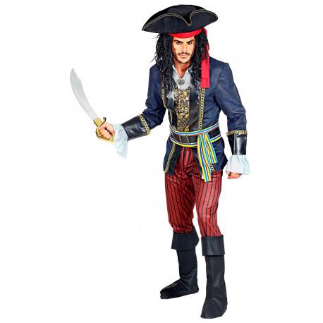 Disfraz de Capitán Pirata Elegante para Hombre