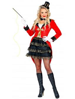 Disfraz de Domadora con Frac Rojo para Mujer