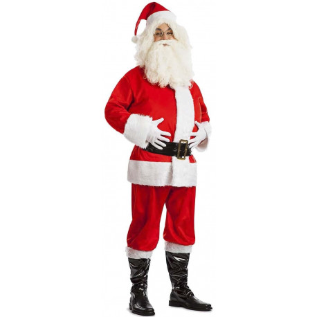 Disfraz de Papá Noel Terciopelo para Adulto