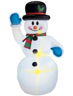 Muñeco de Nieve Hinchable de Decoración
