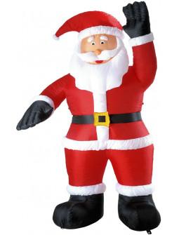 Papá Noel Hinchable de Decoración