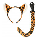 Kit de Disfraz Tigre con Cola y Diadema