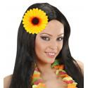 Flor Girasol con Pinza para el Pelo e Imperdible