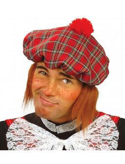 Gorra de Escocés con pelo