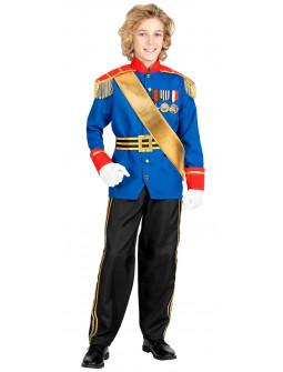 Disfraz de Príncipe Encantador Azul para Niño