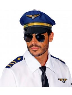 Kit de Disfraz de Piloto de Avión para Adulto