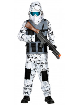 Disfraces De Soldado Con Camuflaje Militar Para Adultos Y Ninos