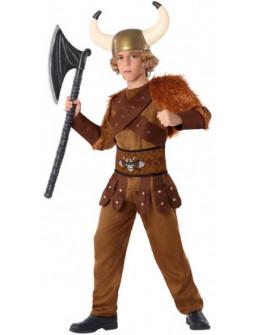 Disfraz de Vikingo Bárbaro para Niño