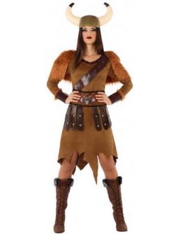 Disfraz de Vikinga Bárbara para Mujer